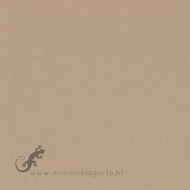 Geglazuurde mozaiektegel Mosa 15 x 15 cm Aardebruin 16640