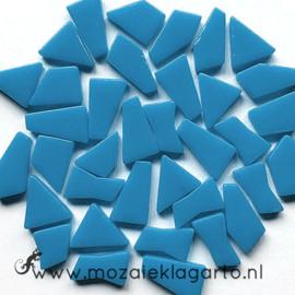 Mozaiek puzzelstukjes Glas 100 gram Aqua 065