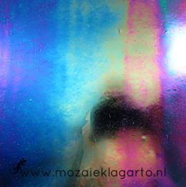 Glasplaat 19x20 cm Iriserend Zwart CAG015i