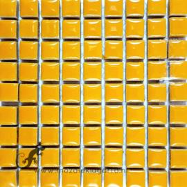 Keramiek tegel 10x10 mm per 81 Warm Geel 101