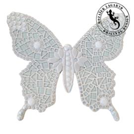Mozaiekpakket 33 Vlinder Bambino Wit