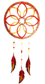 Mozaiekpakket 48 Dromenvanger Primavera Rood/Oranje/Geel