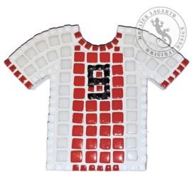 Mozaiekpakket 8 Magneet Voetbalshirt Ajax