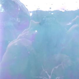 Glasplaat 19x20 cm Iriserend Paarsblauw CAG124i