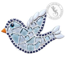 Mozaiekpakket 8 magneet Vogel