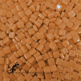 Mozaiek tegeltjes glas 8 x 8 mm Opaal per 50 gram Toffee 094