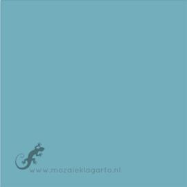 Geglazuurde mozaiektegel Mosa 15 x 15 cm Blue Curaçao 17990