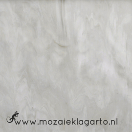 Glasplaat 20 x 20 cm Semi Translucent  Grijs/Wit Y386st