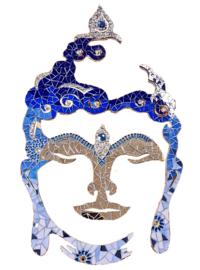 Mozaiekpakket 23 Boeddha 60 cm Blauw