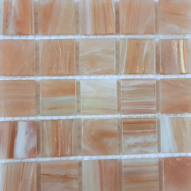 Goudader glastegels Licht Goud per 25 tegels 002