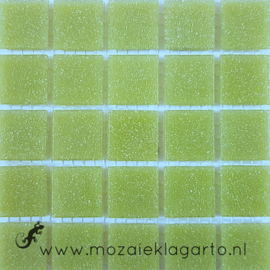 Basis glastegels Appelgroen per 25 tegels 060