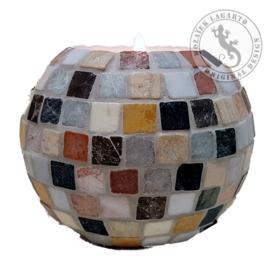 Mozaiekpakket 15 Waxinelichthouder Marmara