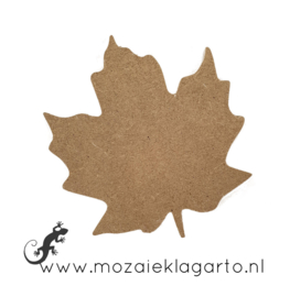 Ondergrond voor mozaiek Mini MDF Herfstblad 022