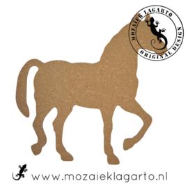 Ondergrond voor mozaiek MDF Paard 020