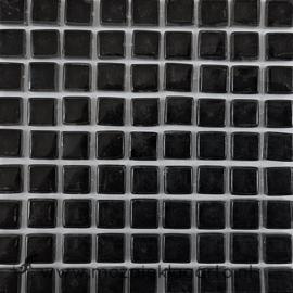 Glastegeltje Murrini Zwart per 81 tegeltjes 009