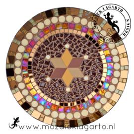 Mozaiekpakket 6 Schaal Nova Bruin