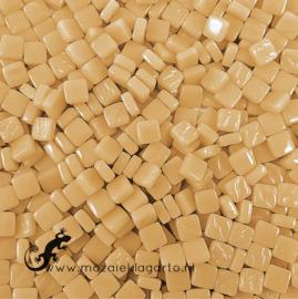 Mozaïek tegeltjes glas 8 x 8 mm Opaal per 50 gram Créme 093
