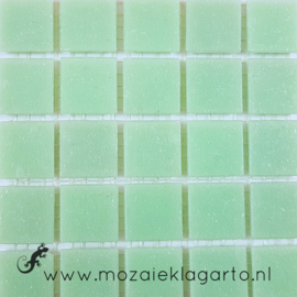 Basis glastegels Pistachegroen per 25 tegels 021