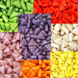 Glastegels Driehoek