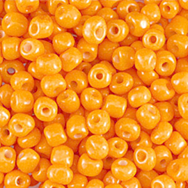 Rocailles 6/0 Warm Geel per 10 gram