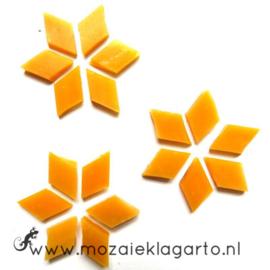 Wybertjes/Ruitjes 15x25 mm per 20 Mangogeel 041-2