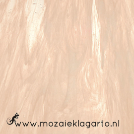 Glasplaat 20 x 20 cm Translucent  Champagne/Wit W567tl