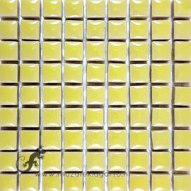 Keramiek tegel 10x10 mm per 81 Lichtgeel 102