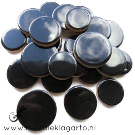 Keramiek Cirkel  3 maten Zwart 001