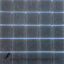 Basis glastegels Midden Grijs 25 tegels 009