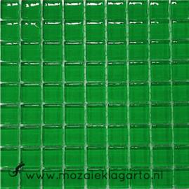 Glastegeltje Murrini Groen per 81 tegeltjes 104