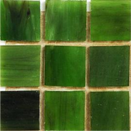 Tiffany glas tegels Olijfgroen 076