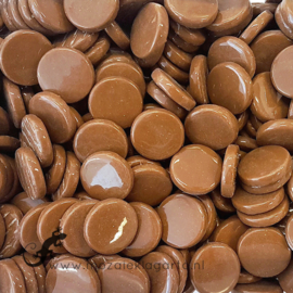 Glastegel Rond 18 mm per 50 gram Koffie 099