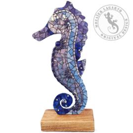 Mozaiekpakket 45 Zeepaard Zora Blauw