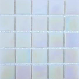 Wit Parelmoer 2 x 2 cm per 25 tegels
