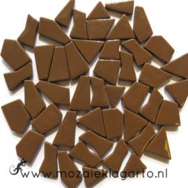 Mozaiek puzzelstukjes Glas 100 gram Koffiebruin 099