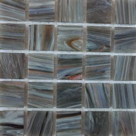 Goudader glastegels Grijs per 25 tegels 059