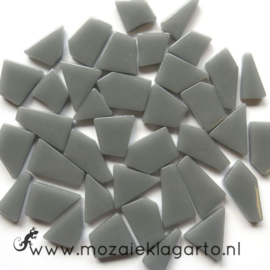 Mozaiek puzzelstukjes Glas 100 gram Grijs 045