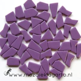 Mozaiek puzzelstukjes Glas 100 gram Paars 060
