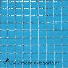 Glastegeltje Murrini Aqua per 81 tegeltjes 058