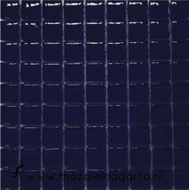 Glastegeltje Murrini Donker Blauw per 81 tegeltjes 099