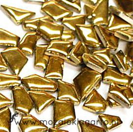 Keramiek Puzzelstukjes per 100 gram Goud 1002