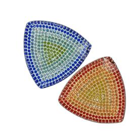 Mozaiekpakket 28 Schaaltje Triangel 2 kleuren