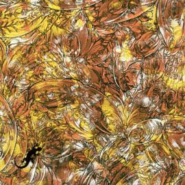 Van Gogh Glas 5 x 15 cm Koper/Goud/Zilver 089