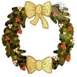 Mozaiekpakket 25 Kerstkrans