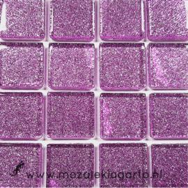 Glitter 2x2 cm per 16 tegels Lila 036