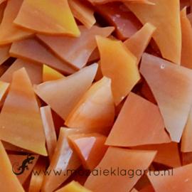 Glasscherven Oranje - Geel Translucent  CAG071tl