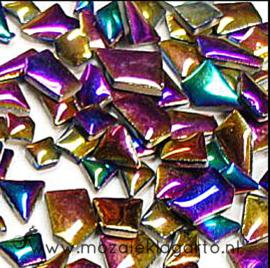 Keramiek Puzzelstukjes per 100 gram Regenboog 1003