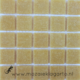 Basis glastegels Beige per 25 tegels 032