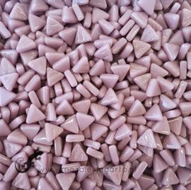 Glasmozaiek Driehoekjes 10 mm per 50 gram Lila 053