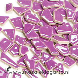 Keramiek Puzzelstukjes per 100 gram Paars 043